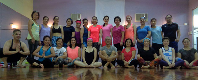 Hatha Flow Yoga with Joanna Lizares Co at Holiday Spa and Gym