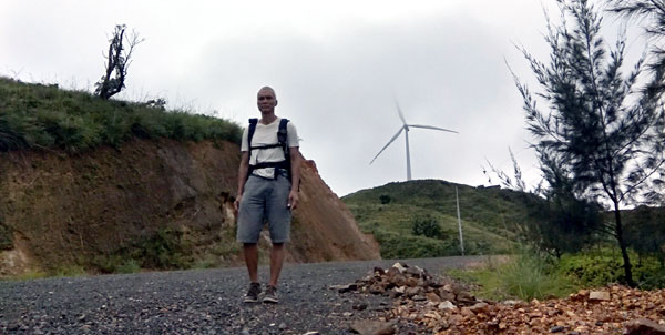Visiting the Wind Turbines of Nabas
