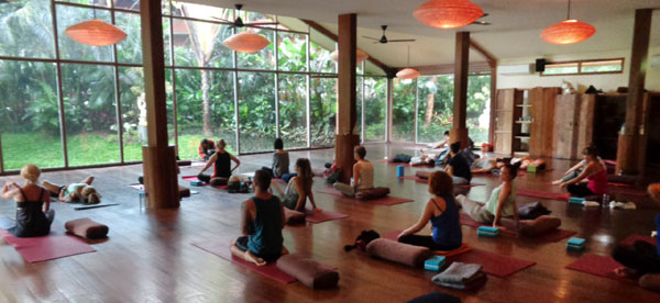 Hatha Yoga with Andrea Paige at The Yoga Barn