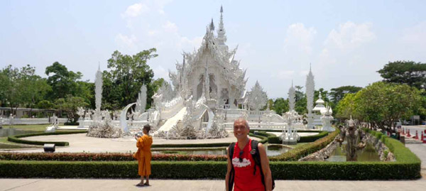 Visiting the White Temple of Chiang Rai (Wat Rong Khun)