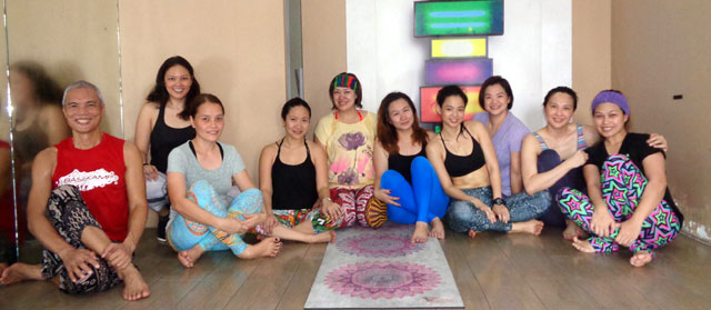 Lounge One Yoga Sequence by May Bel Le at North Zen Hotel