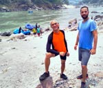 Rafting the Ganga River with Greg Goldstein