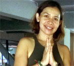 Gentle Flow Yoga with Nuch at Now's Fitness, Bangkok