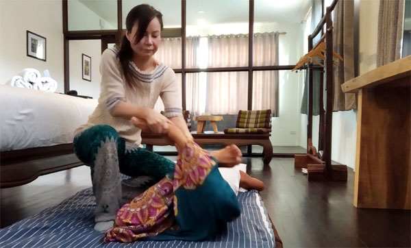 Thai Massage from Ying