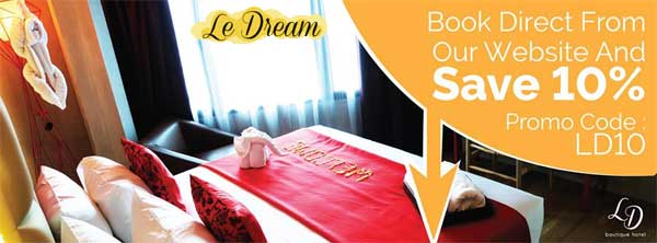 Le Dream Boutique Hotel, Penang hotel